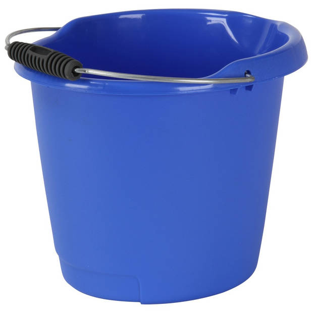 Curver emmer met schenktuit - 10 liter - blauw