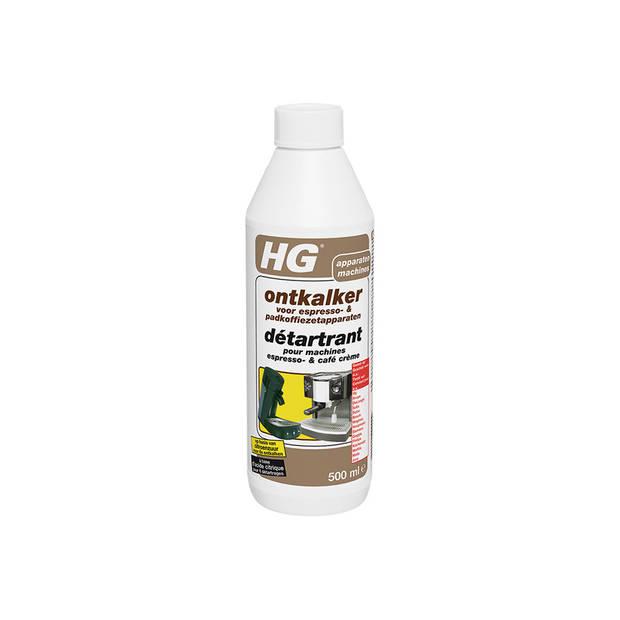 HG ontkalker koffiezetapparaten 0,5 liter
