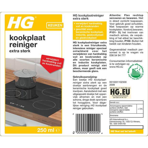 HG keramische kookplaatreiniger intensief