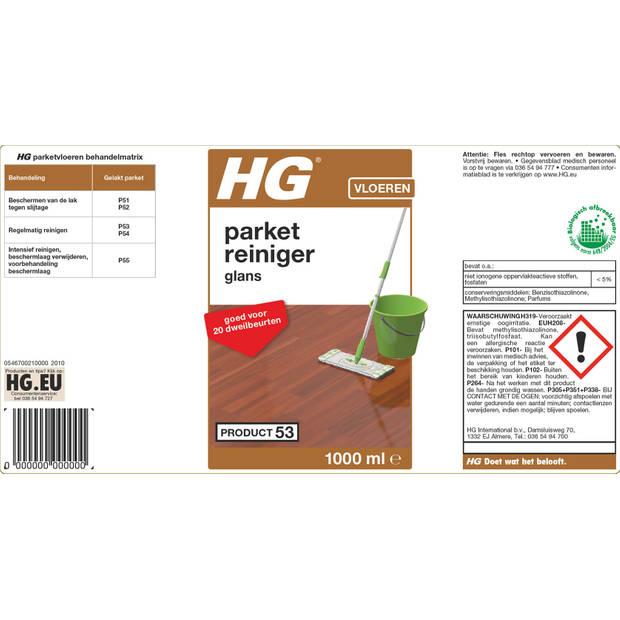 HG parket glansreiniger (wash & shine)