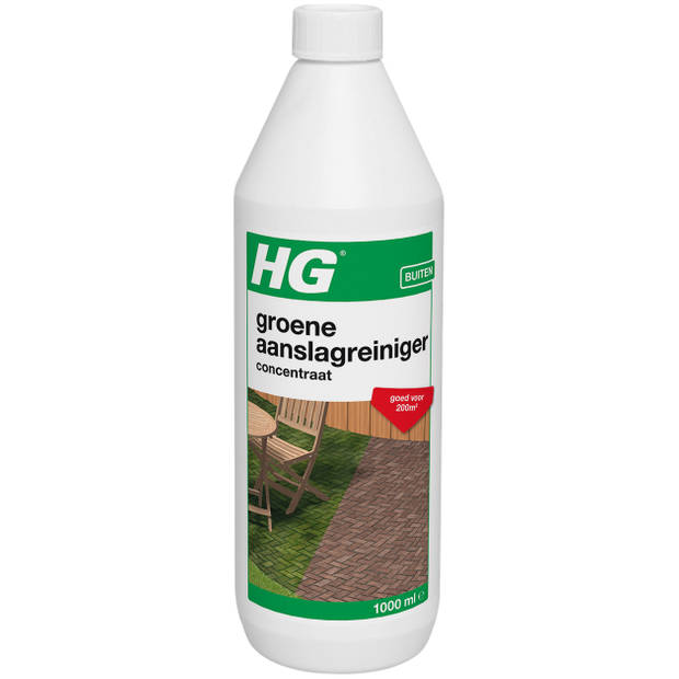 HG Groene aanslag reiniger 1 liter