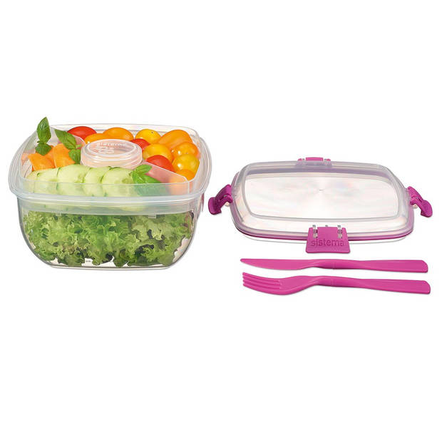 Sistema Salad to Go 1,1L