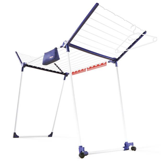 Leifheit - Droogrek Pegasus 200 Solid Deluxe Mobile – 20 m drooglengte