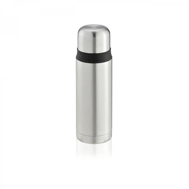 Leifheit Coco thermoskan - 0,5 liter - zilverkleurig