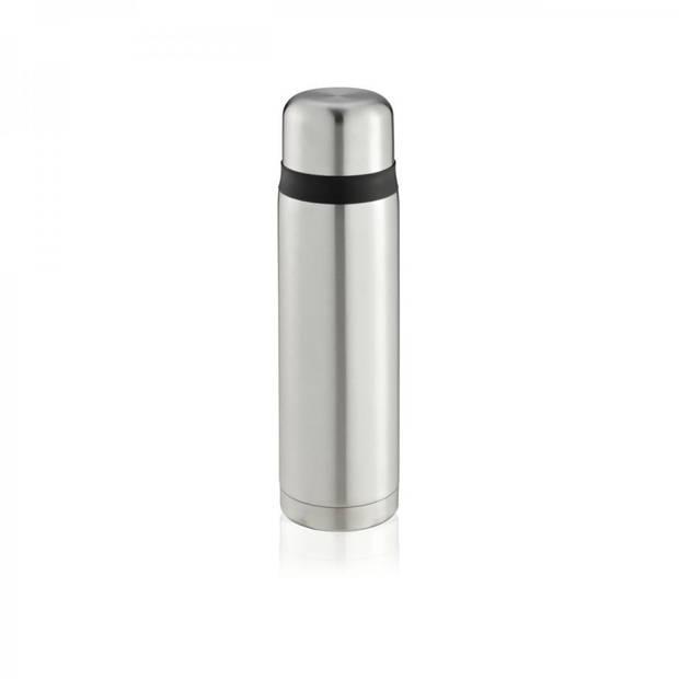 Leifheit Coco thermoskan - 1 liter - zilverkleurig