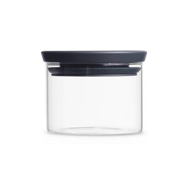 Brabantia stapelbare voorraadpot 0,3 liter - Glas