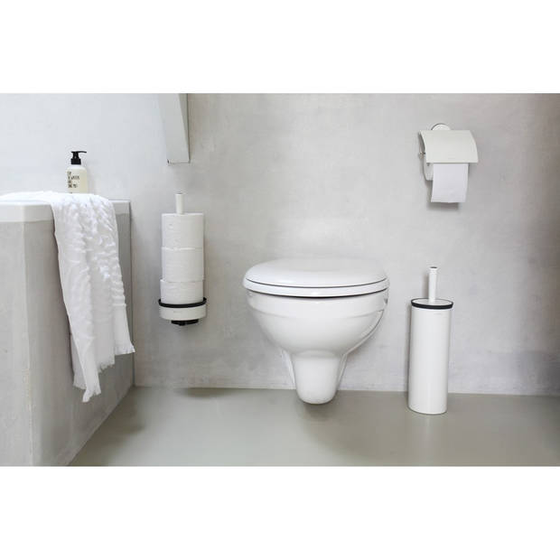 Brabantia Profile toiletborstel met houder - White