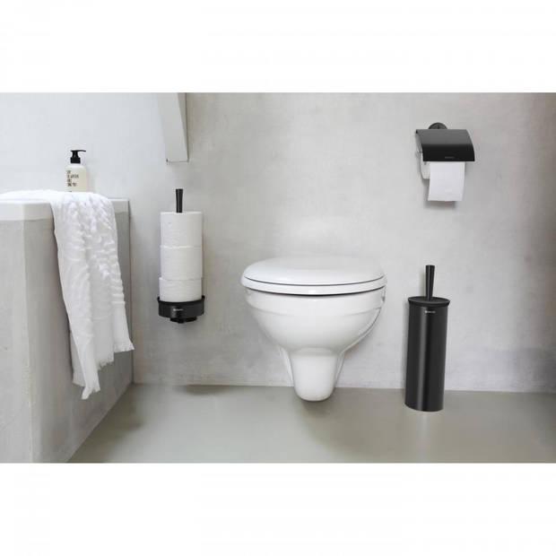 Brabantia Profile toiletborstel met houder - Black