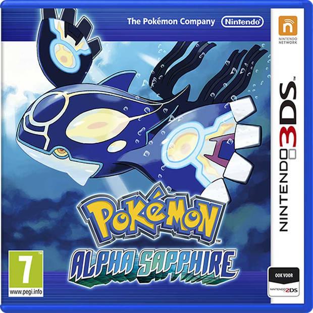 3DS Pokémon Alpha Sapphire 2014