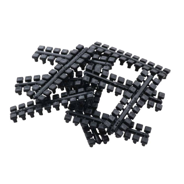1 punt kleurstrips zwart (601), 10 stuks