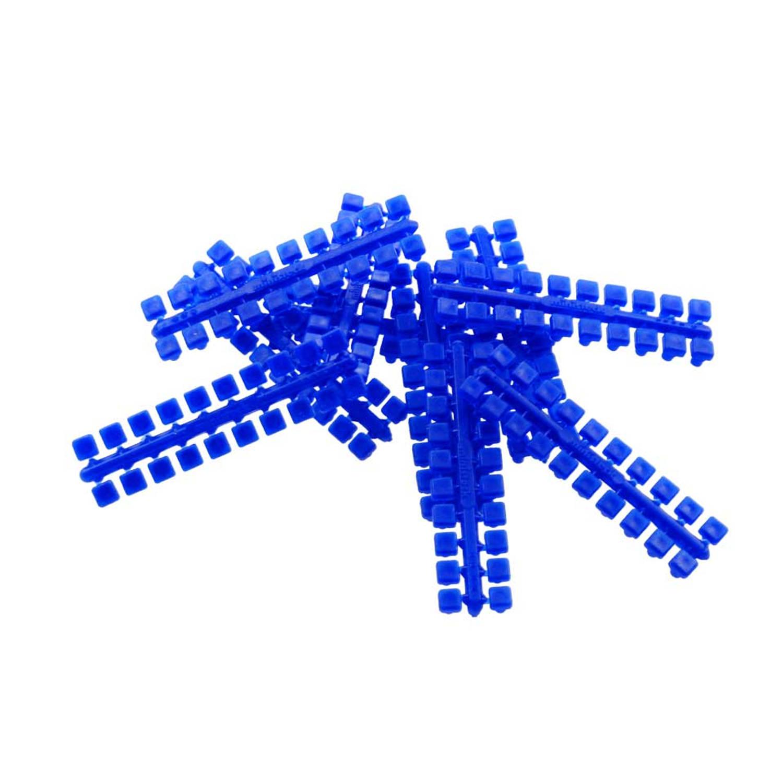 1 punt kleurstrips donkerblauw (602), 10 stuks