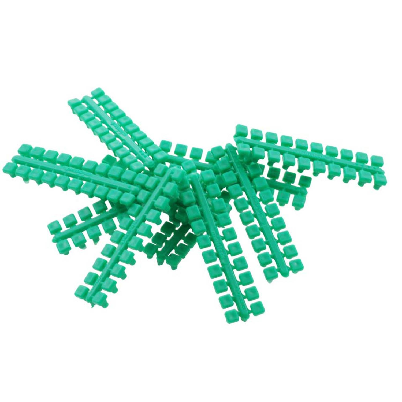1 punt kleurstrips lichtgroen (604), 10 stuks