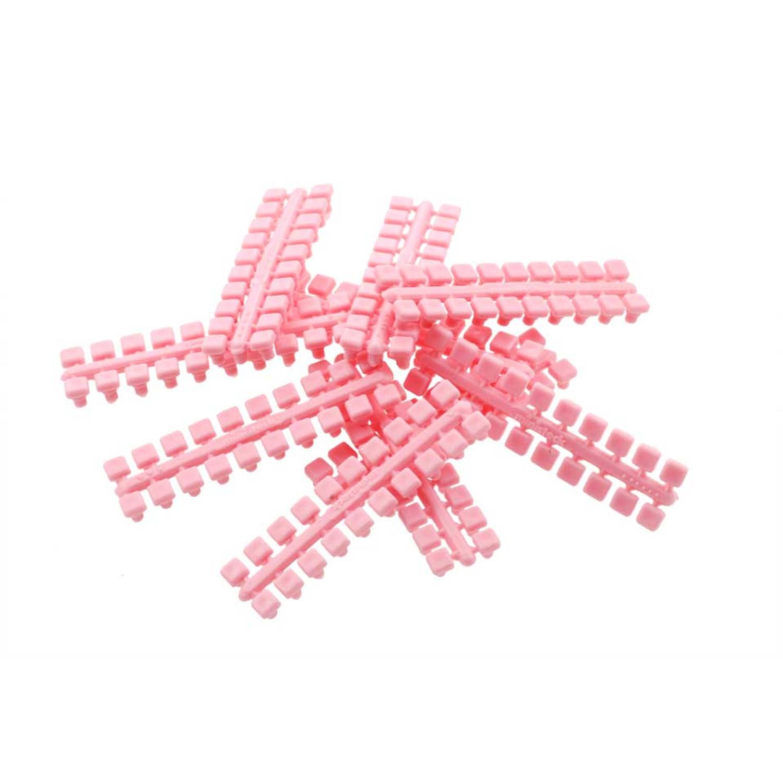 1 punt kleurstrips roze (615), 10 stuks