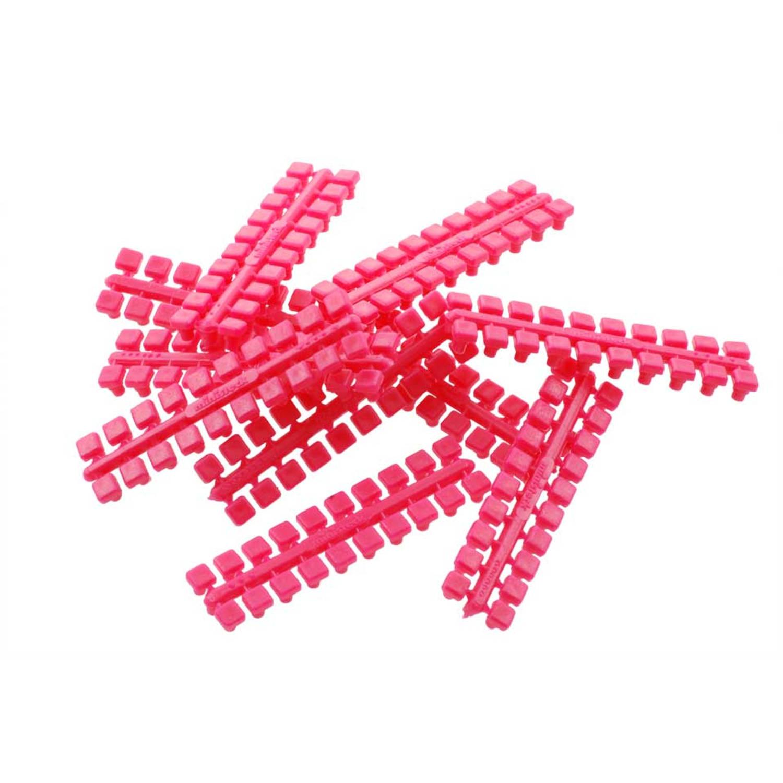 1 punt kleurstrips felroze (623), 10 stuks