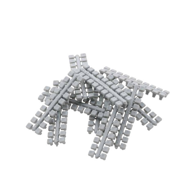 1 punt kleurstrips grijs P4 (638), 10 stuks
