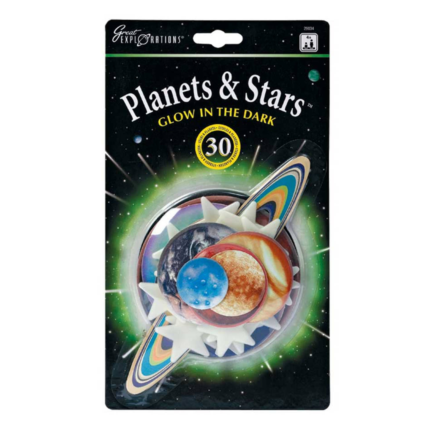 Planets & Stars Glow In The Dark