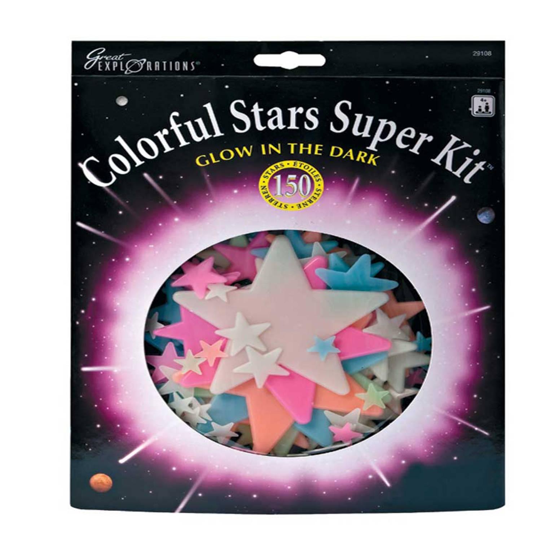 University Games Colorful Stars Super Kit Kinderkamer Decoratie
