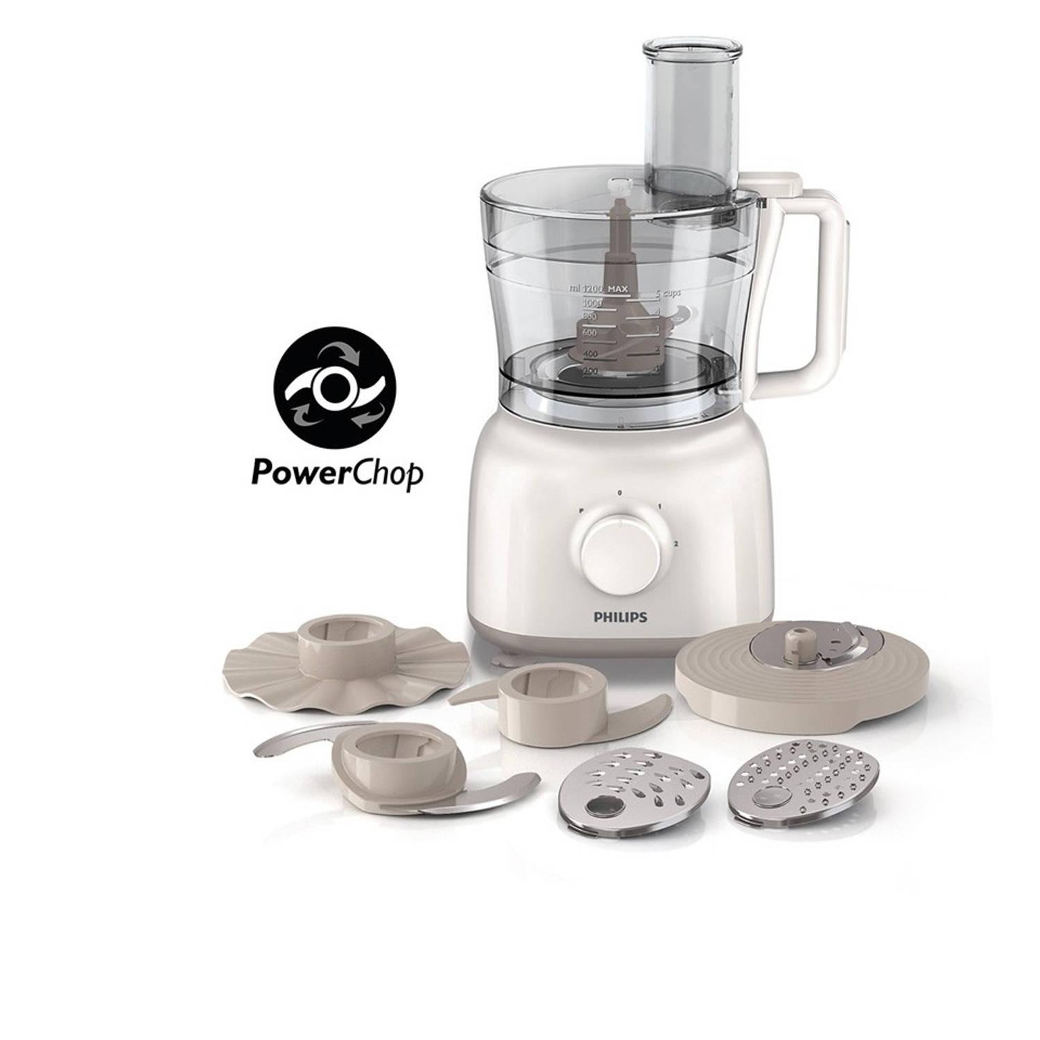 Philips Daily Collection foodprocessor HR7627/00 - 2,1 L