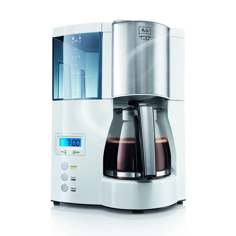 Melitta Optima Timer koffiezetapparaat - wit