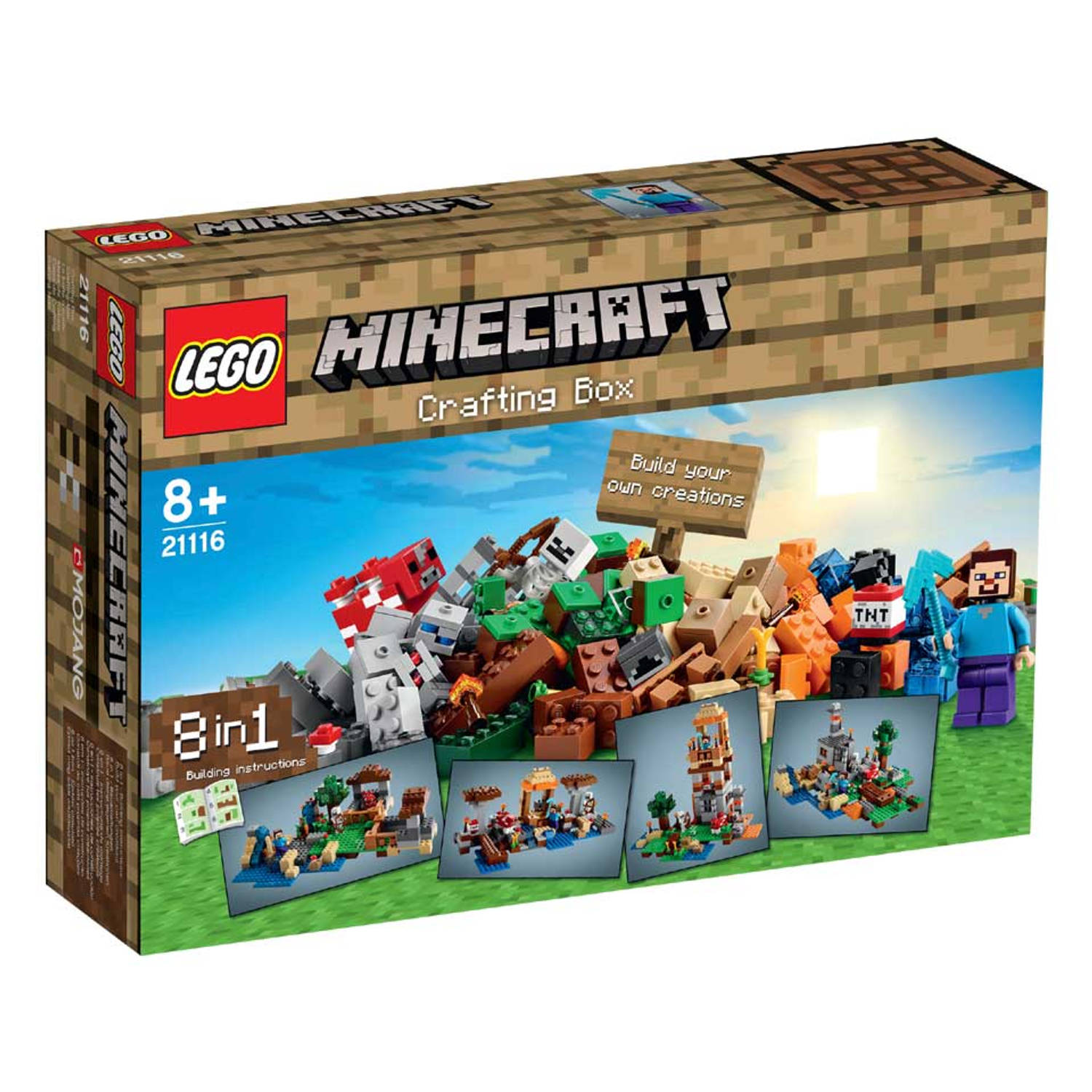 LEGO Minecraft Crafting kist 21116