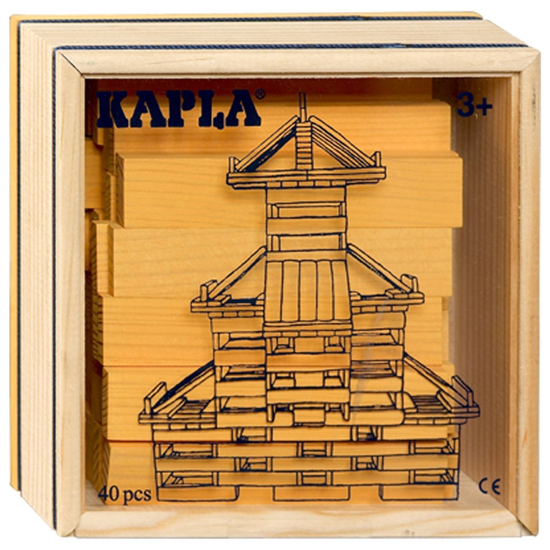 Kapla Kist 40-delig Geel