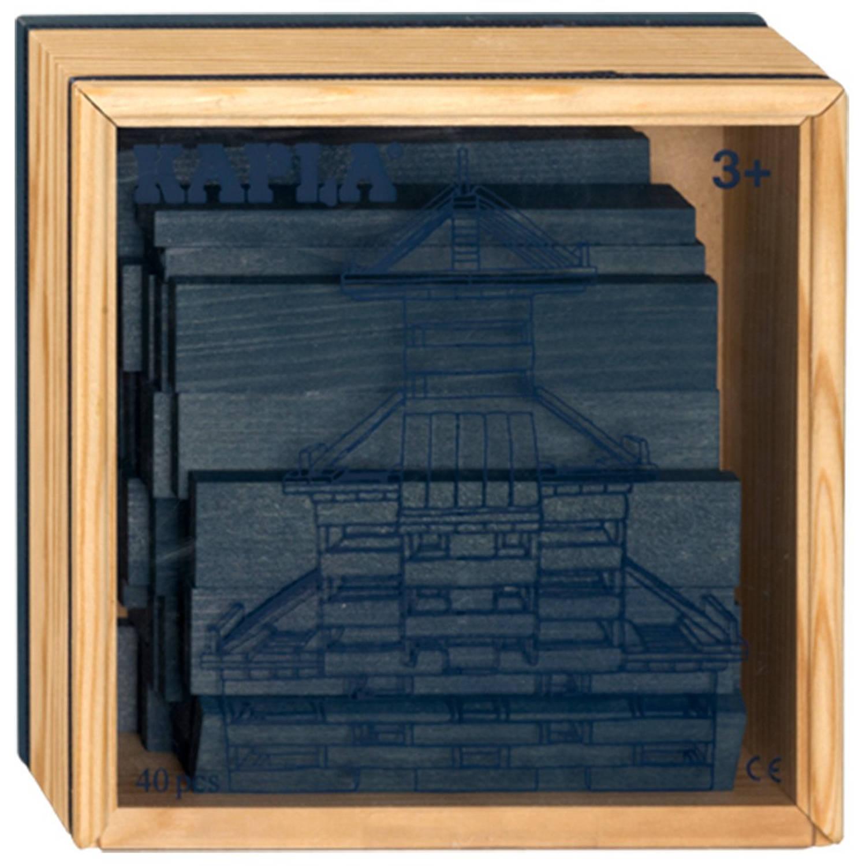 Kapla Kist 40-delig Donker Blauw