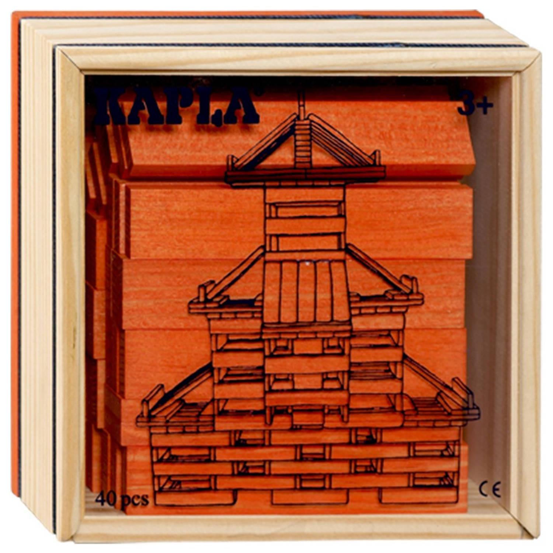 Kapla Kist 40-delig - Oranje