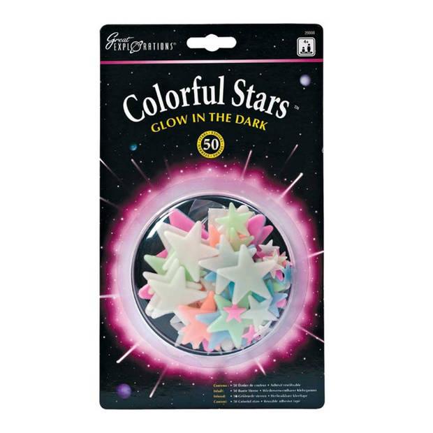 Colorful Stars Glow in the Dark
