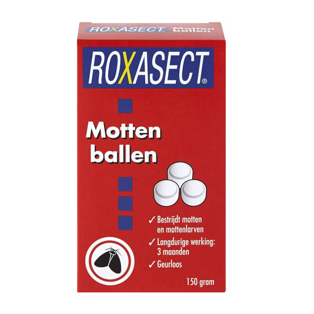 Roxasect mottenballen 150 gr