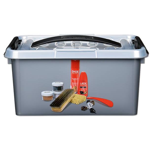 Sunware Q-line schoenpoetsbox - 6 l