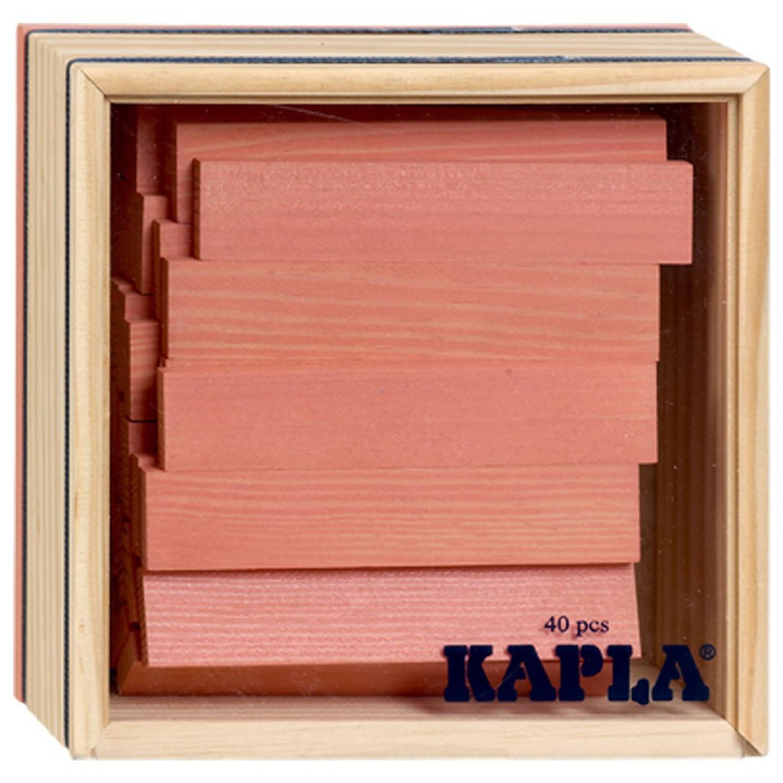 Kapla Kist 40-delig Roze