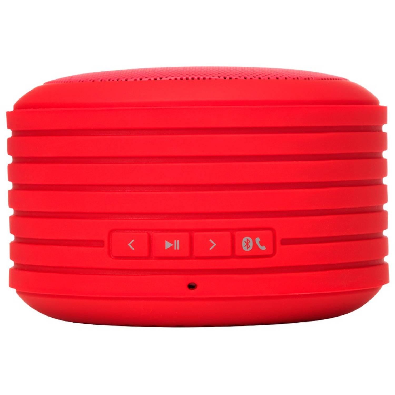 Rockbox Round Speaker Rood