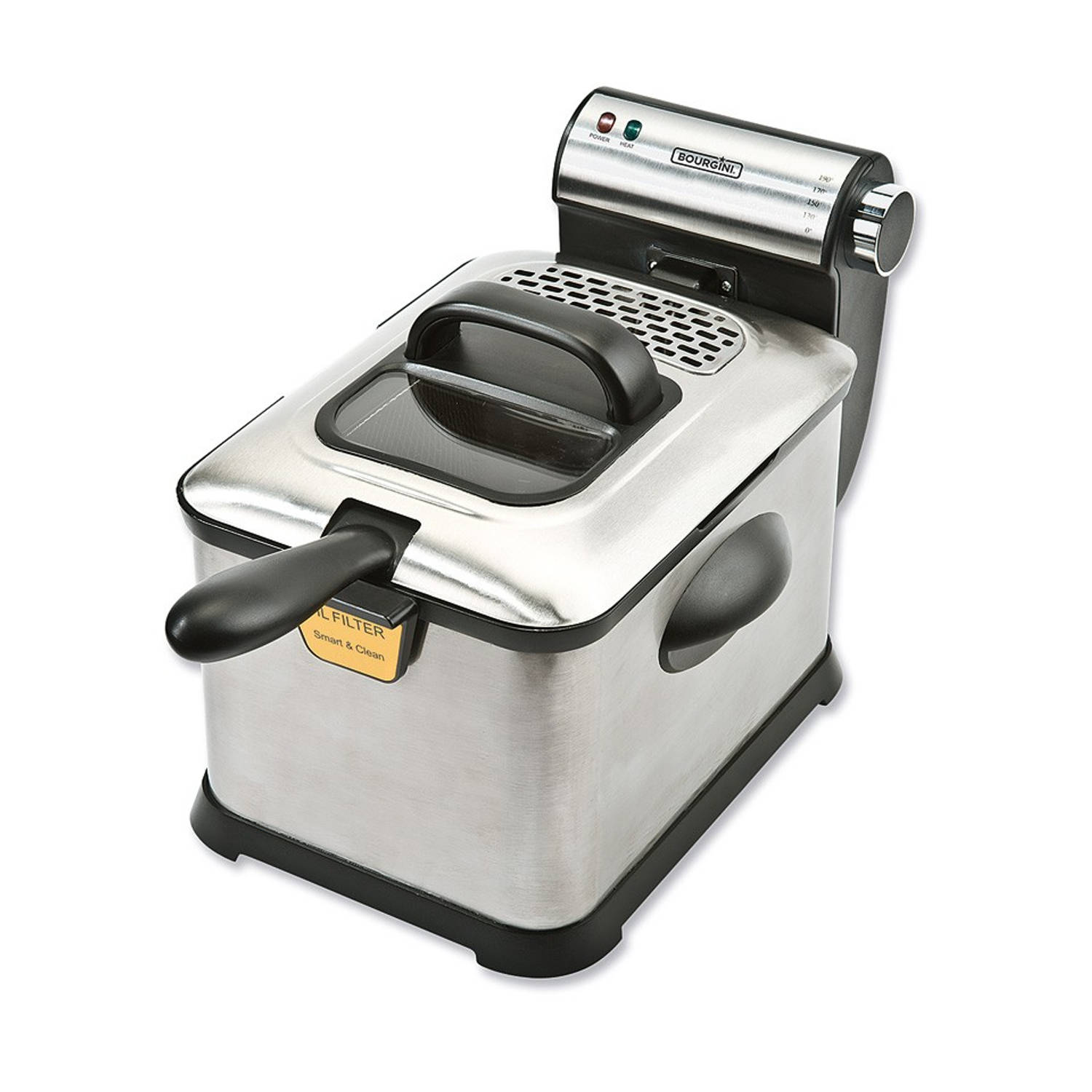 Bourgini friteuse Classic Fryer Deluxe 3 liter
