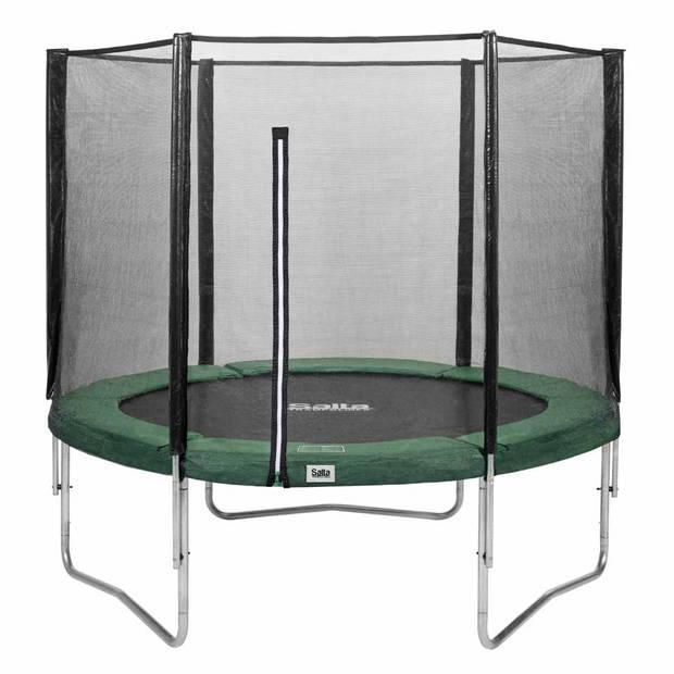 Salta Combo trampoline rond met veiligheidsnet - 305 cm - groen