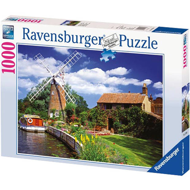 Ravensburger puzzel schilderachtige molen - 1000 stukjes