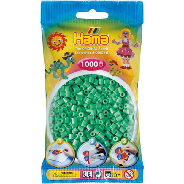 Strijkkralen Hama 1000 Stuks Mint