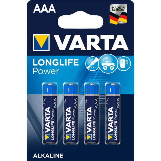 VARTA High Energie AAA batterijen - 4 stuks
