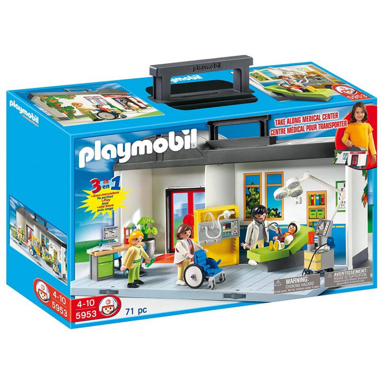 Playmobil meeneem ziekenhuis 5953