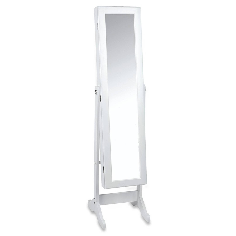 Staande juwelenkast met spiegel blokker for Blokker spiegel