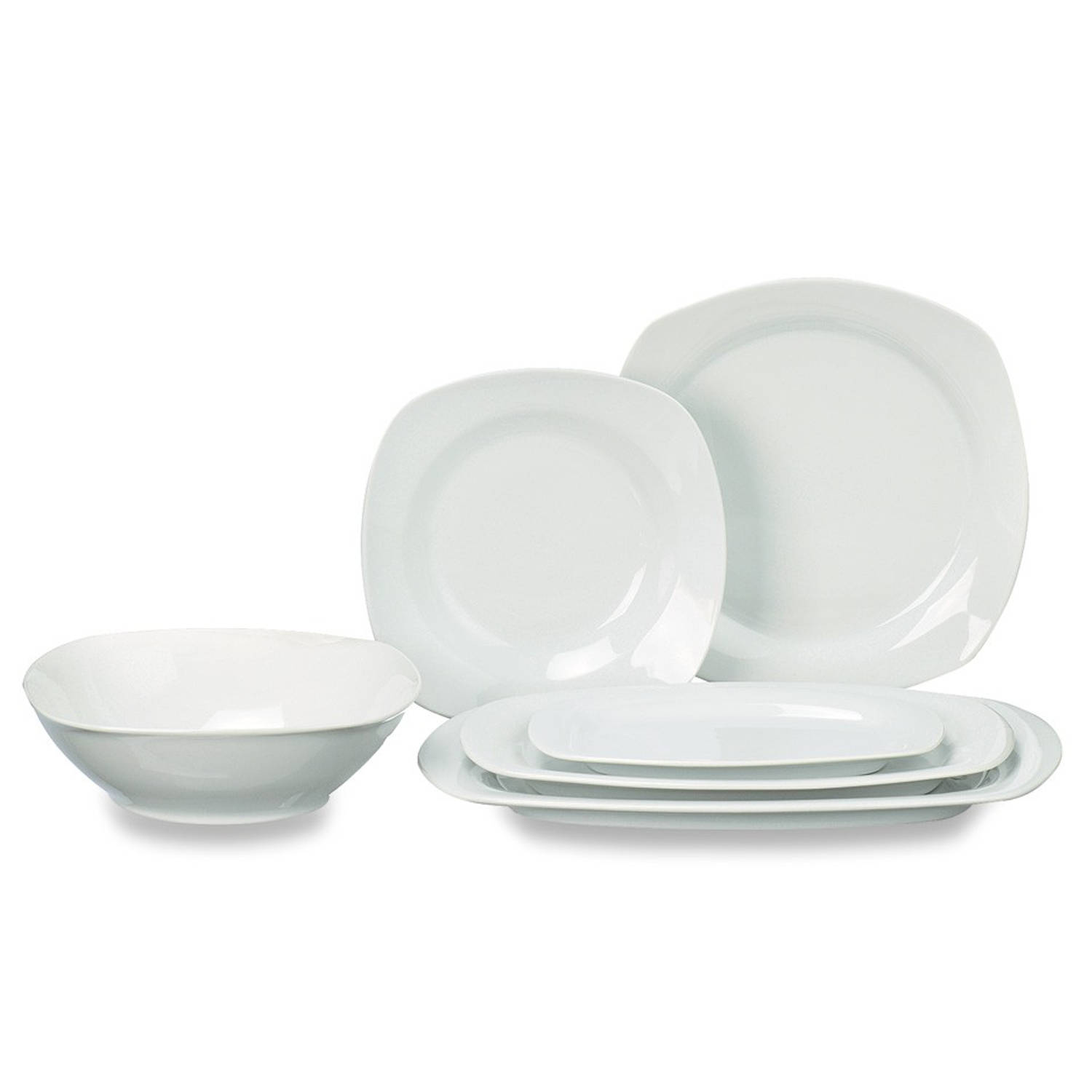 complete 12 persoons servies