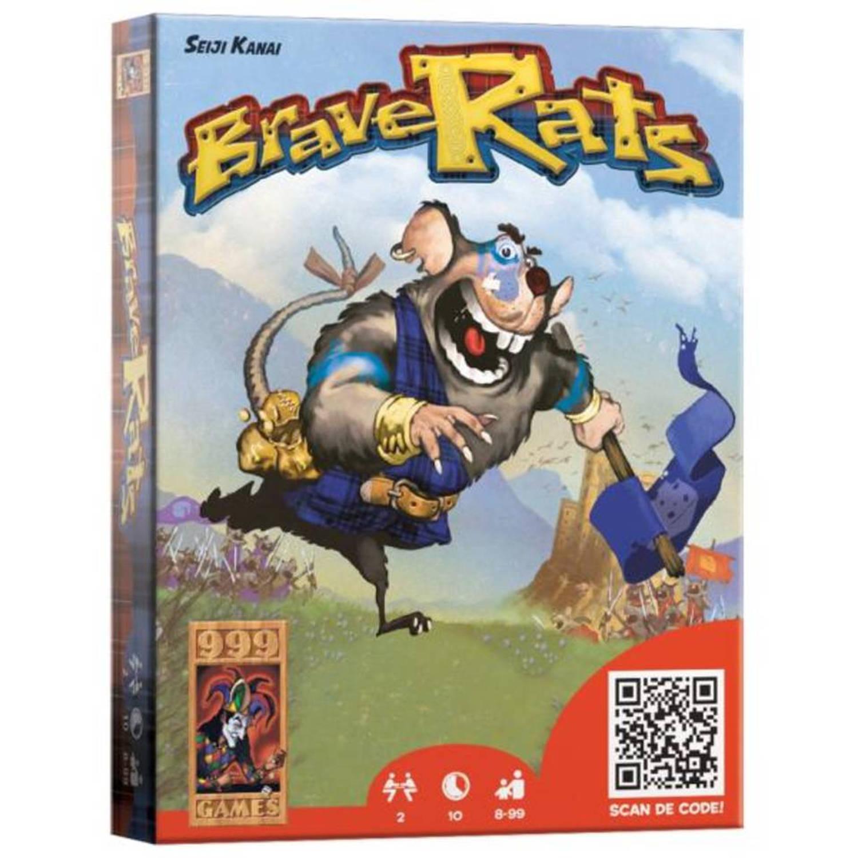 Afbeelding van BraveRats - kaartspel 2 persoons
