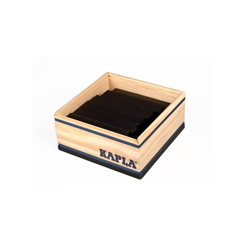 Kapla kist - 40-delig - zwart