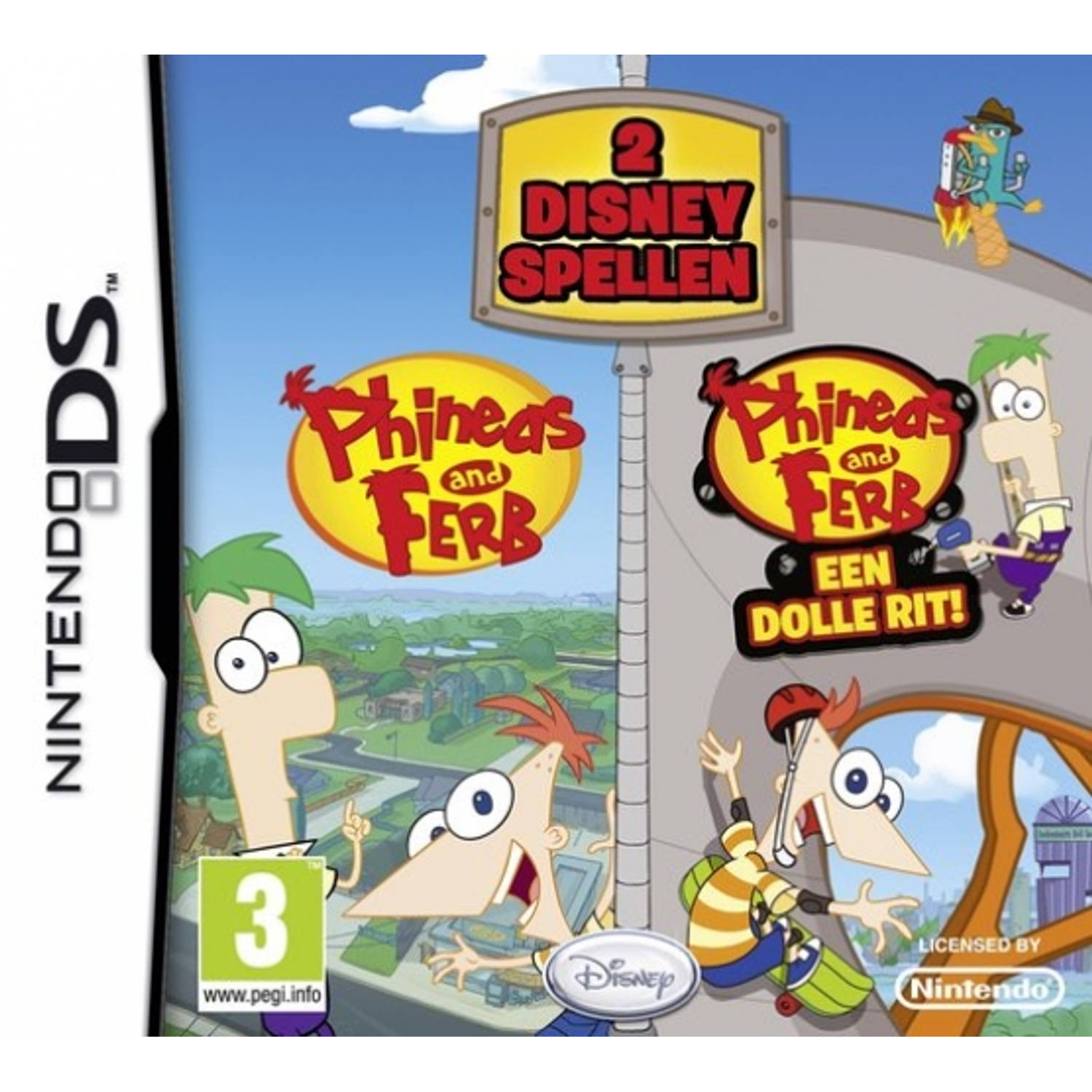 Disney Duo Pack Phineas and Ferb 1 and 2