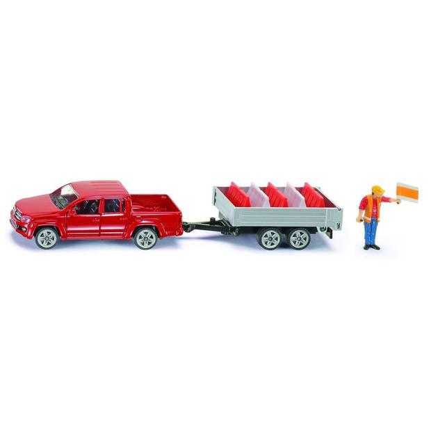 3543 Pick-up/aanhanger Siku