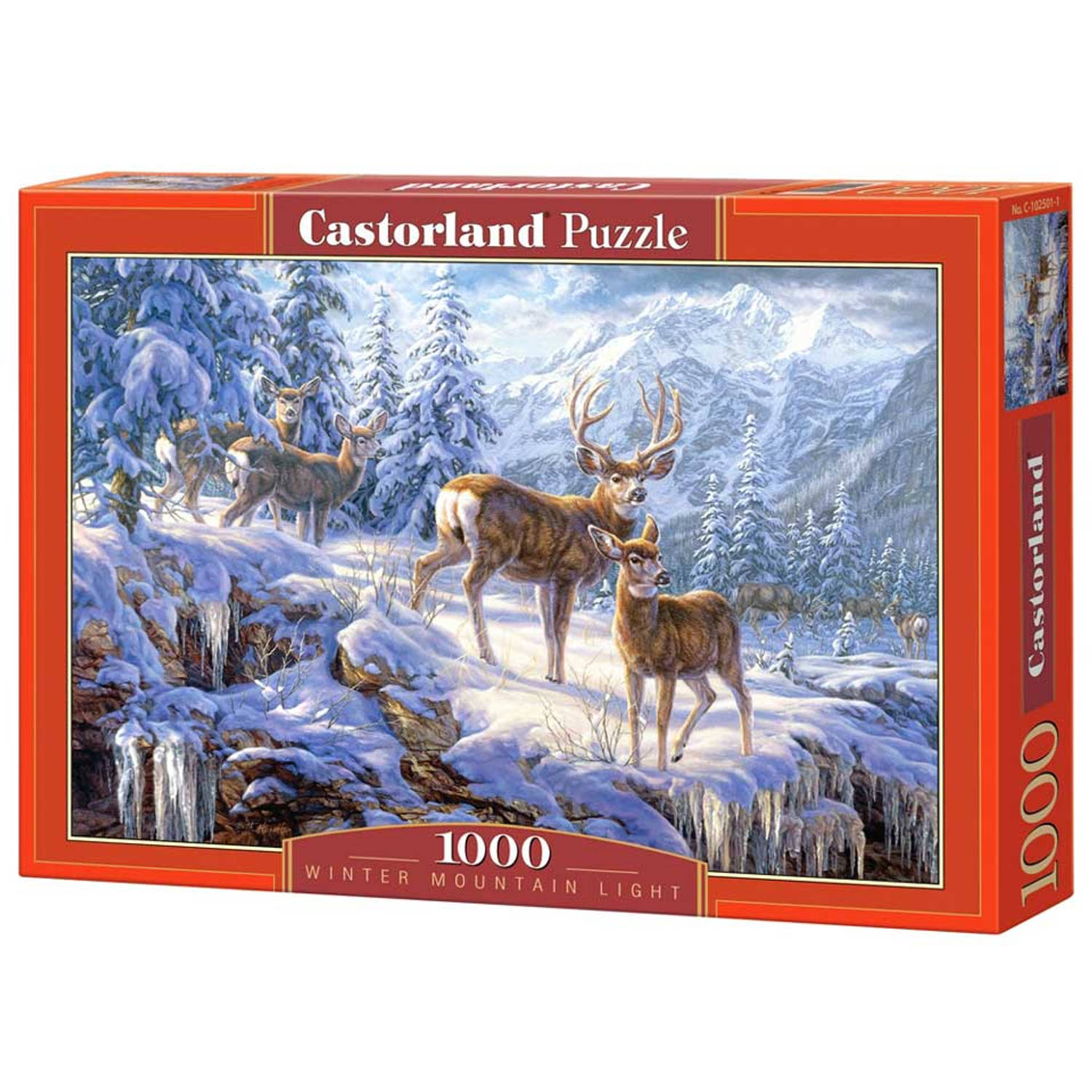 Winter mountain puzzel