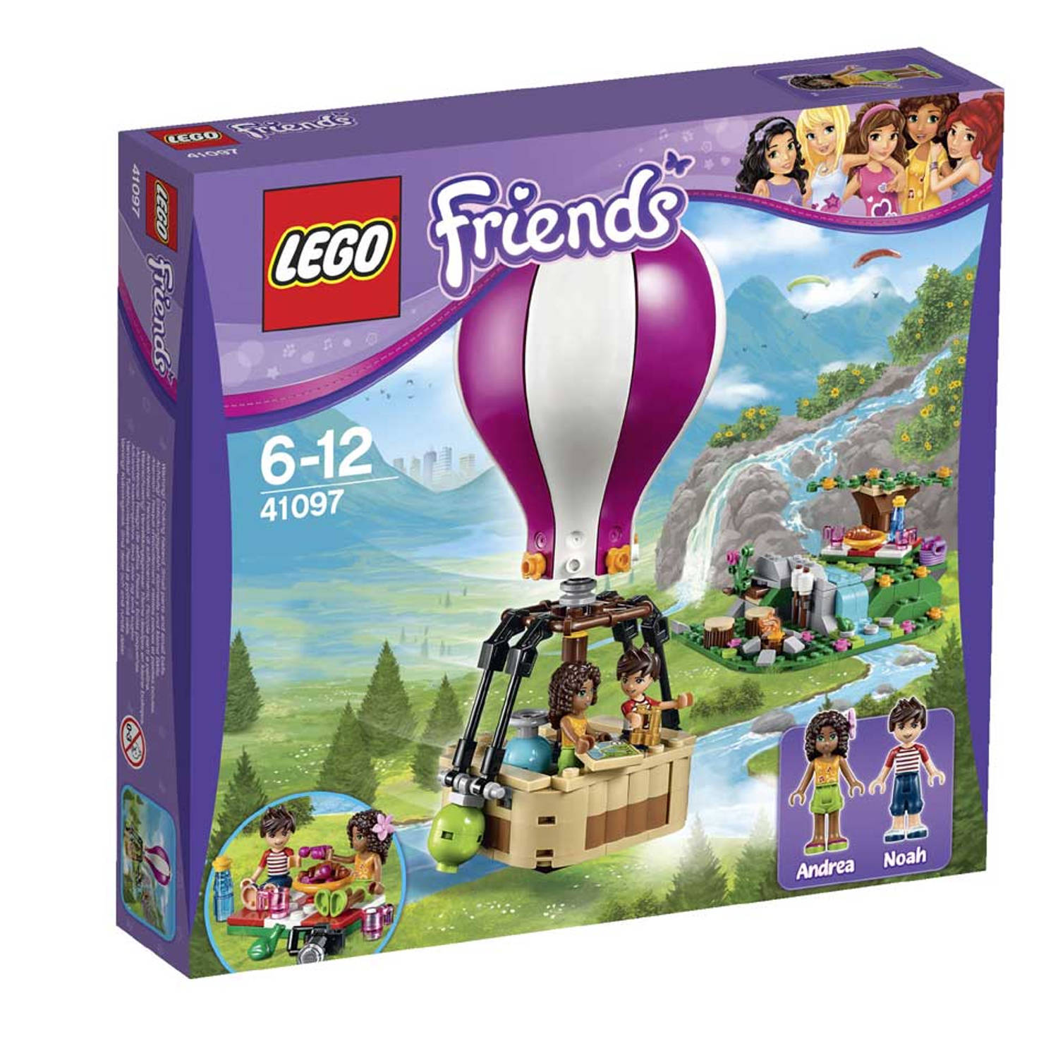 LEGO Friends Luchtballon 41097