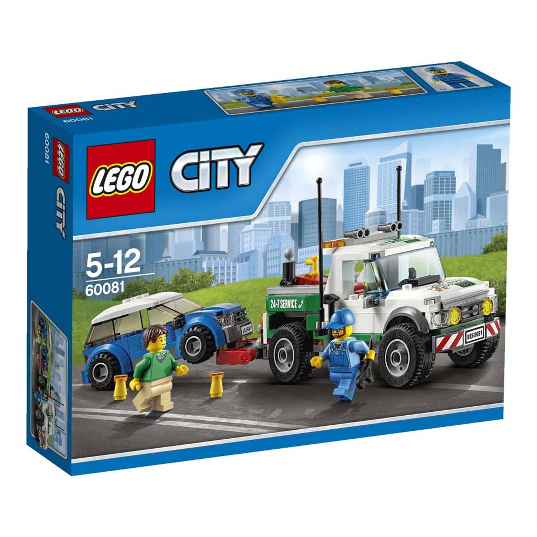 LEGO City sleepwagen 60081