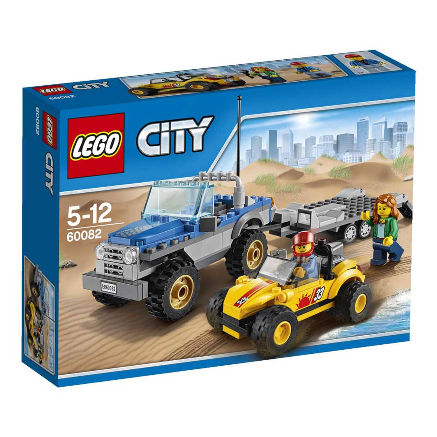 LEGO City strandbuggy met truck 60082