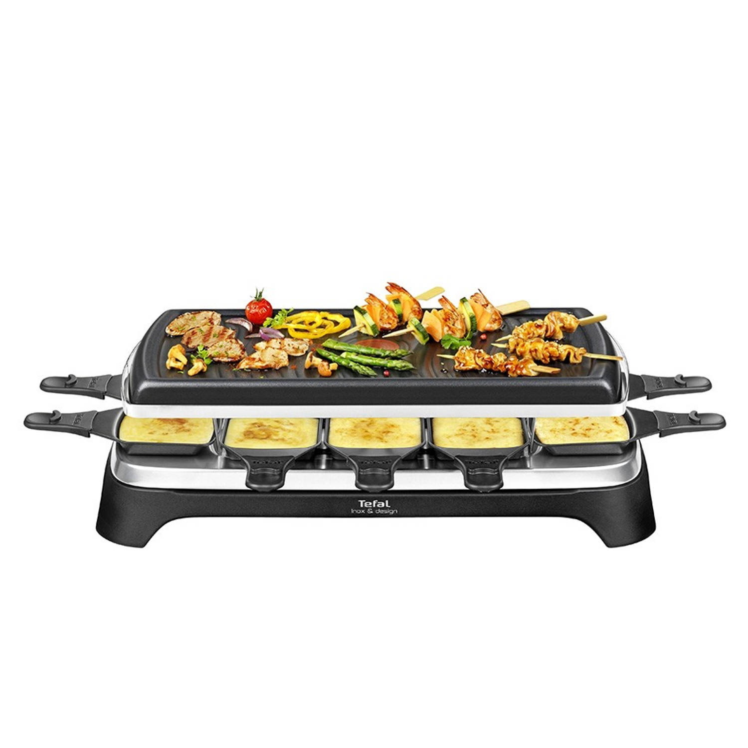 Tefal gourmette/grillplaat 10 RE4588