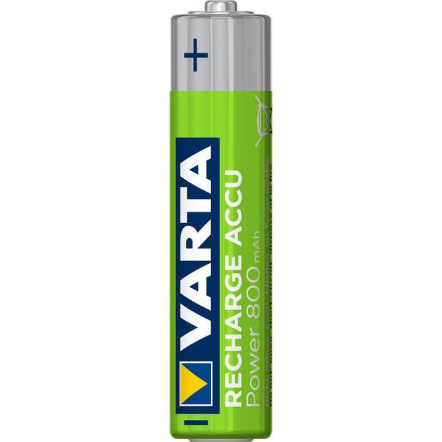 Varta oplaadbare batterijen - AAA 800 mAh